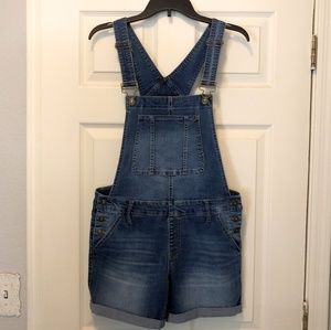 Overall shorts, NWOT